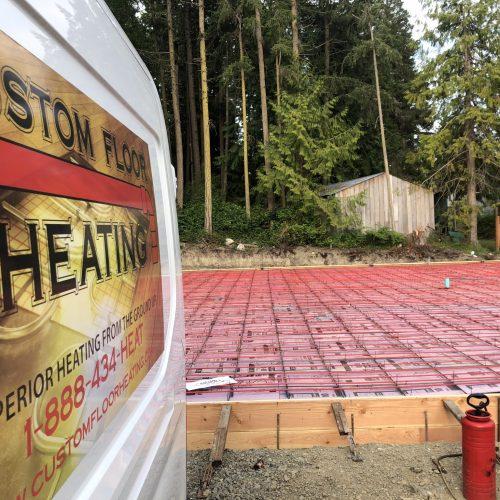 Custom Floor Heating Construction